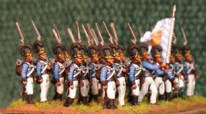 15mm, Napoleonic Bavarian 14th Line Infantry AB 24 figures